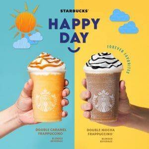 Starbucks - Happy Day Buy 1 Get 1 Promo