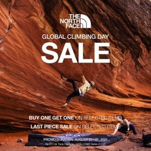 The North Face - Global Climbing Day Sale