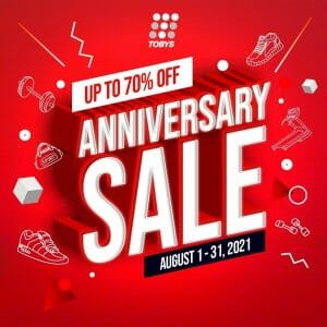 Toby's Sports - Anniversary Sale: Get Up to 70% Off