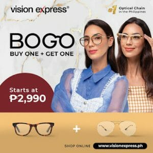 Vision Express - Buy One Get One Promo