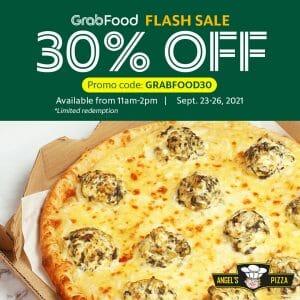 Angel's Pizza - Get 30% Off via GrabFood