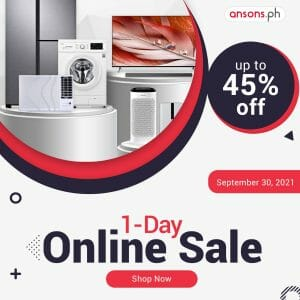 Anson's - 1-Day Online Sale: Get Up to 45% Off