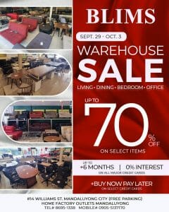 BLIMS Fine Furniture - Warehouse Sale: Get Up to 70% Off