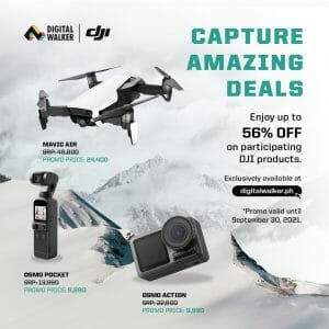 Digital Walker - Get Up to 56% Off on DJI Products