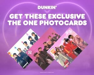 Dunkin' Donuts - Get FREE SB19 The One Photocard Promo