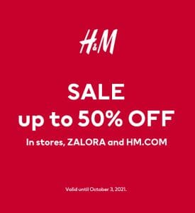 H&M - Exclusive Sale: Get Up to 50% Off