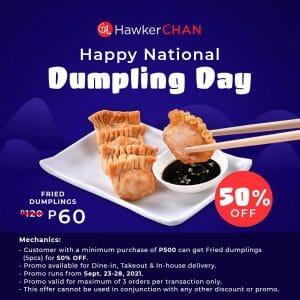 Hawker Chan - Fried Dumplings at 50% Off