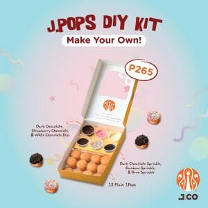 J.CO Donuts and Coffee - J.POPS DIY Kit for P265