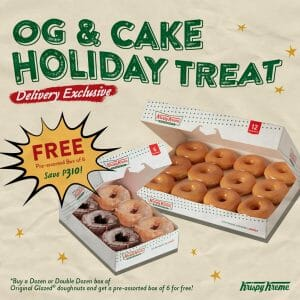 Krispy Kreme - September OG and Cake Holiday Treat