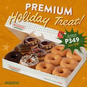 Krispy Kreme - Premium Holiday Treat for P349 (Save P76)