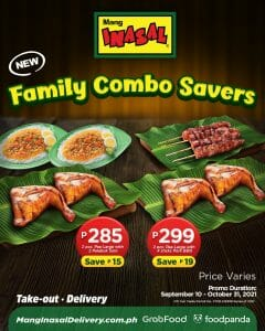 Mang Inasal - Family Combo Savers Promo