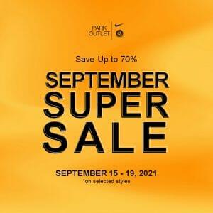 Park Outlet - September Super Sale: Save Up to 70% Off