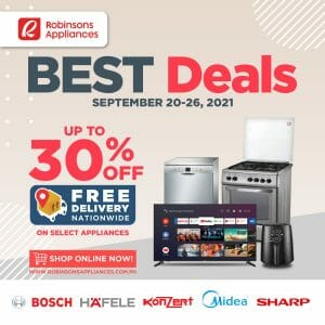 Robinsons Appliances - Best Deals: Get Up to 30% Off