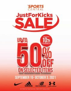 Sports Central - Just For Kicks Sale: Get Up to 50% Off