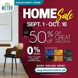 The Metro Stores - Home Sale: Get Up to 50% Off