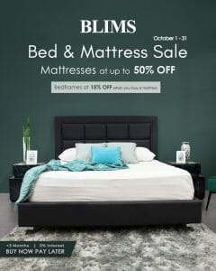 BLIMS - Bed and Mattress Sale: Get Up to 50% Off