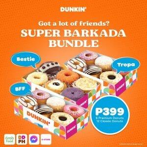 Dunkin' - Super Barkada Bundle for P399