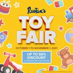 Rustan's - Toy Fair: Get Up to 50% Off