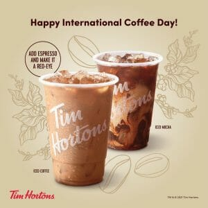 Tim Hortons - Buy One and Get 50% Off a Second Cup Promo