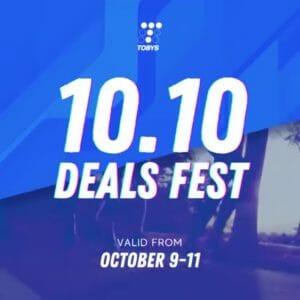 Toby's Sports - 10.10 Deals Fest